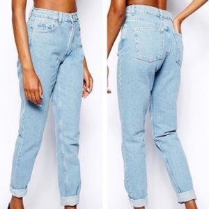 American Apparel | high waisted jeans
